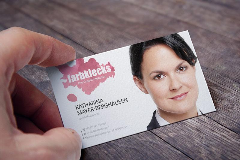 Portrait Visitenkarte Pfeildruck Jörn Pannenborg E K